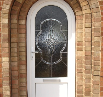 Residential uPVC Door Arched